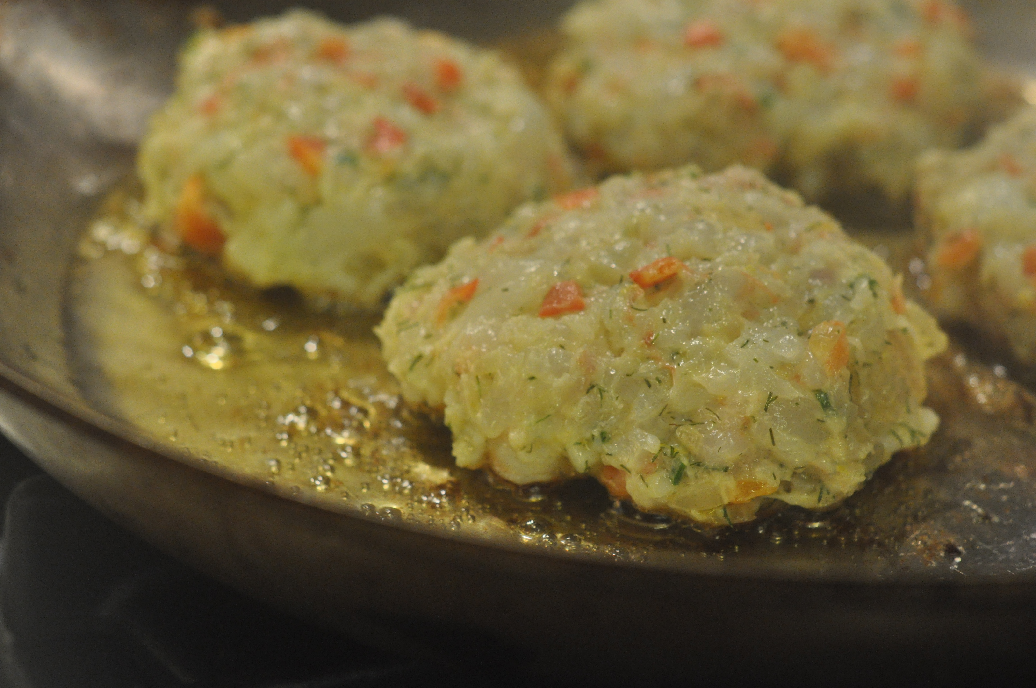 food52's Shrimp Burgers with Roasted Garlic-Orange Aioli